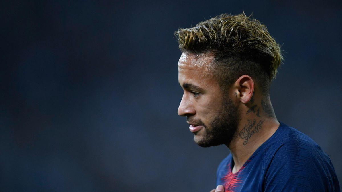Neymar lors de OM-PSG / Ligue 1