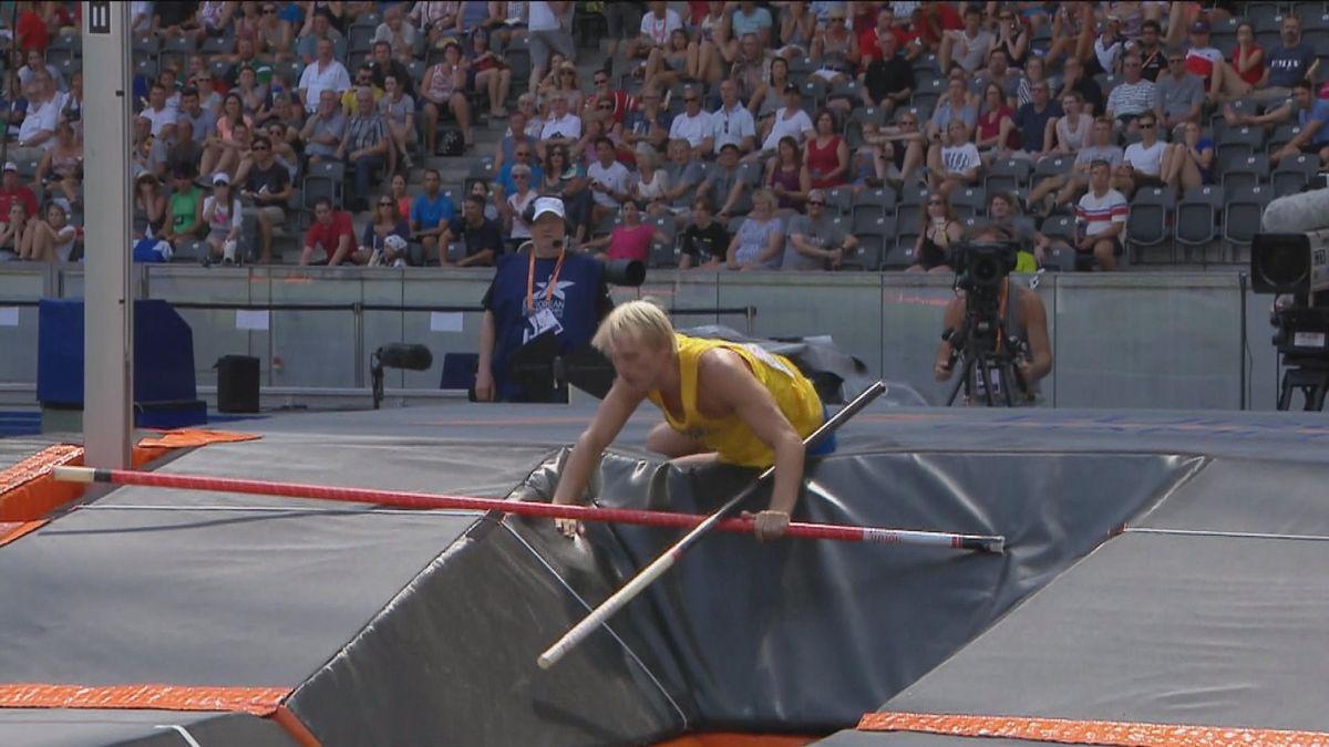 European Championship : Nilsson broking his pole