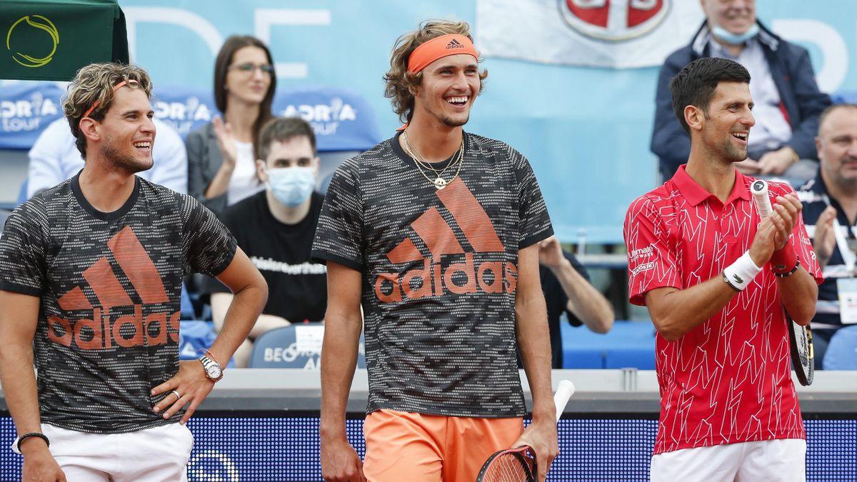 Thiem și Zverev, avertisment pentru Djokovic înainte de US Open