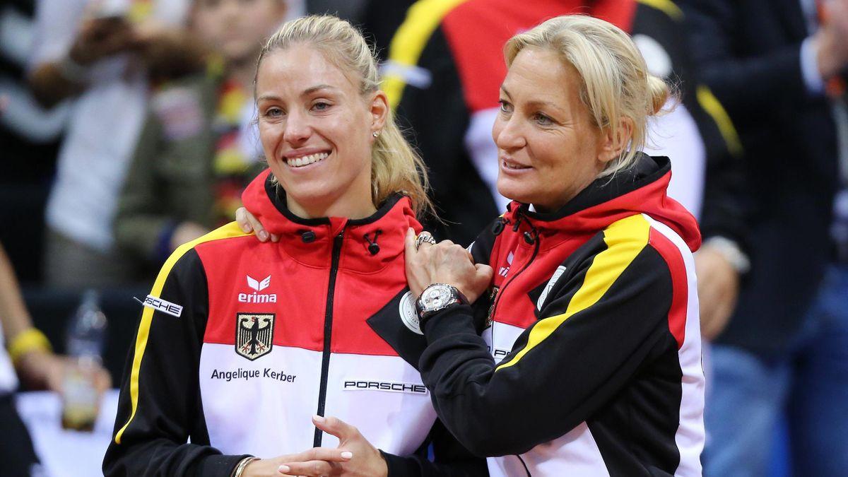 Angelique Kerber und Barbara Rittner