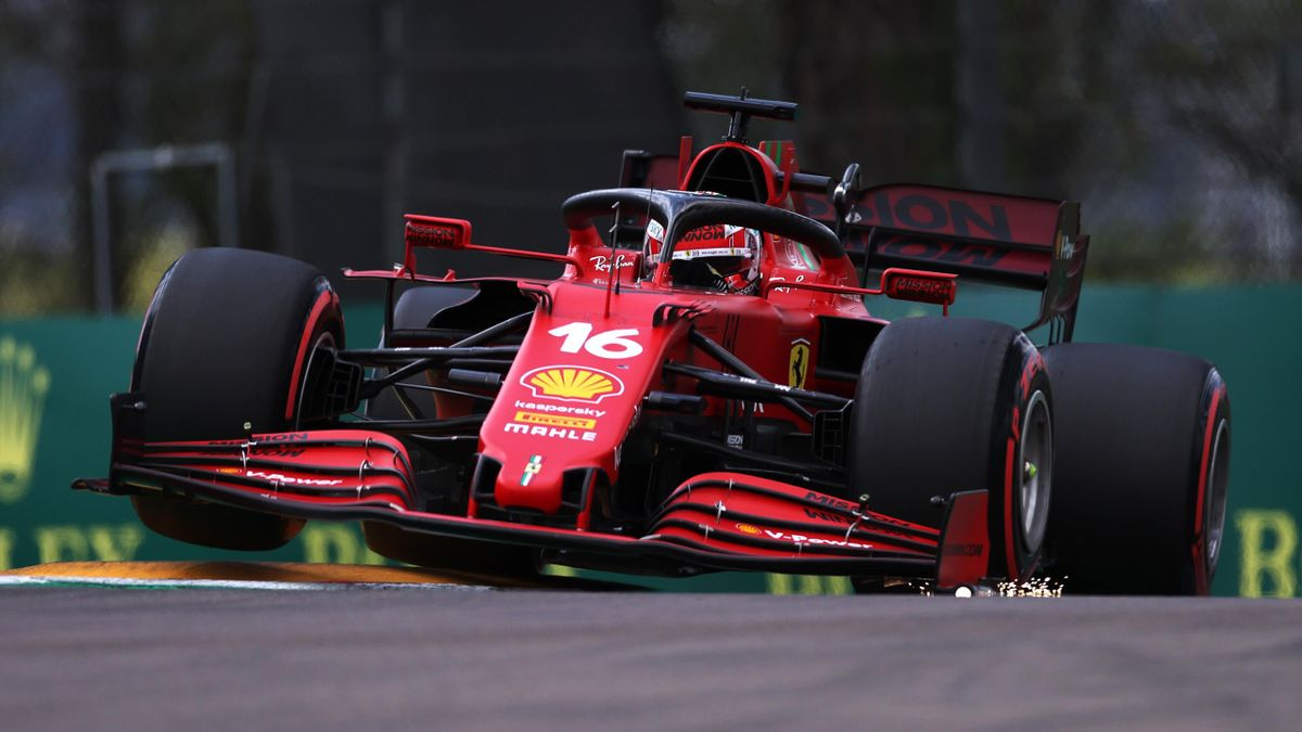 Charles Leclerc, Ferrari, GP Emilia Romagna, Getty Image