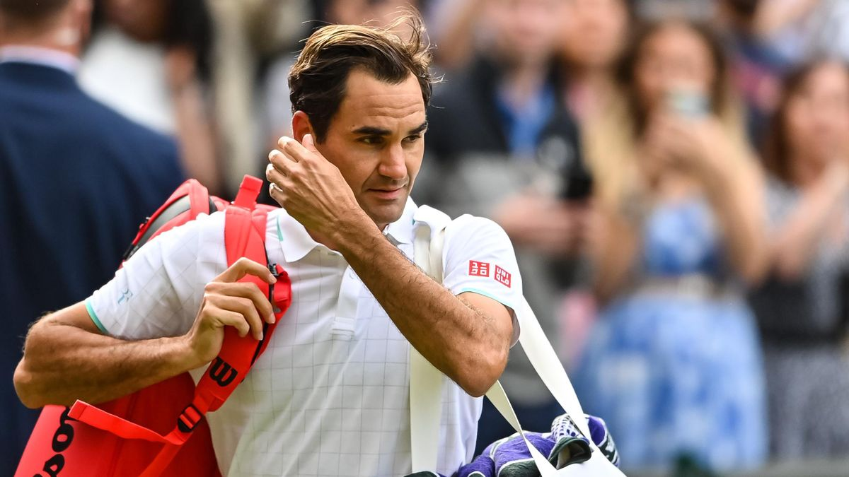 Roger Federer nach dem Wimbledon-Aus 2021