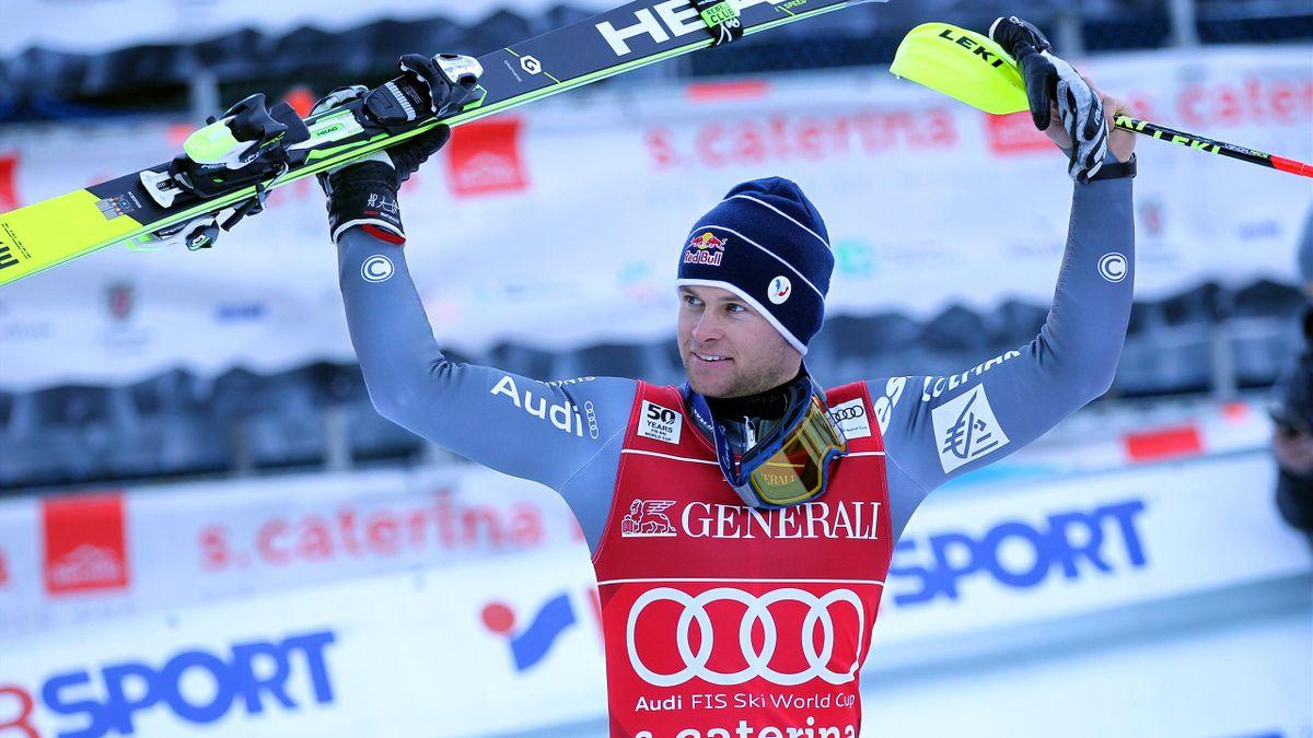 Alexis Pinturault, vainqueur du super-combiné de Santa Caterina