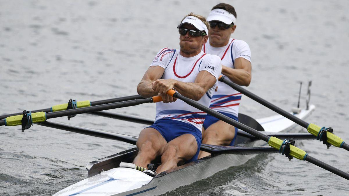Pierre Houin und Jeremie Azou sind Olympiasieger