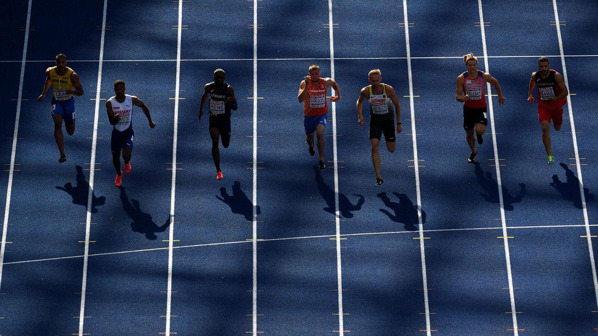 Primera jornada de europeos de atletismo de Berlín