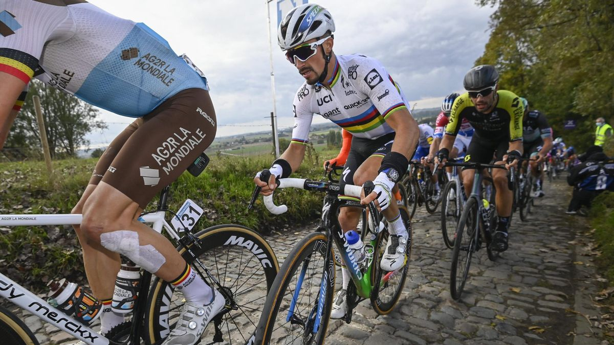 Julian Alaphilippe - Giro delle Fiandre 2020 - Imago pub only in ITAxGERxSUIxAUTxHUN