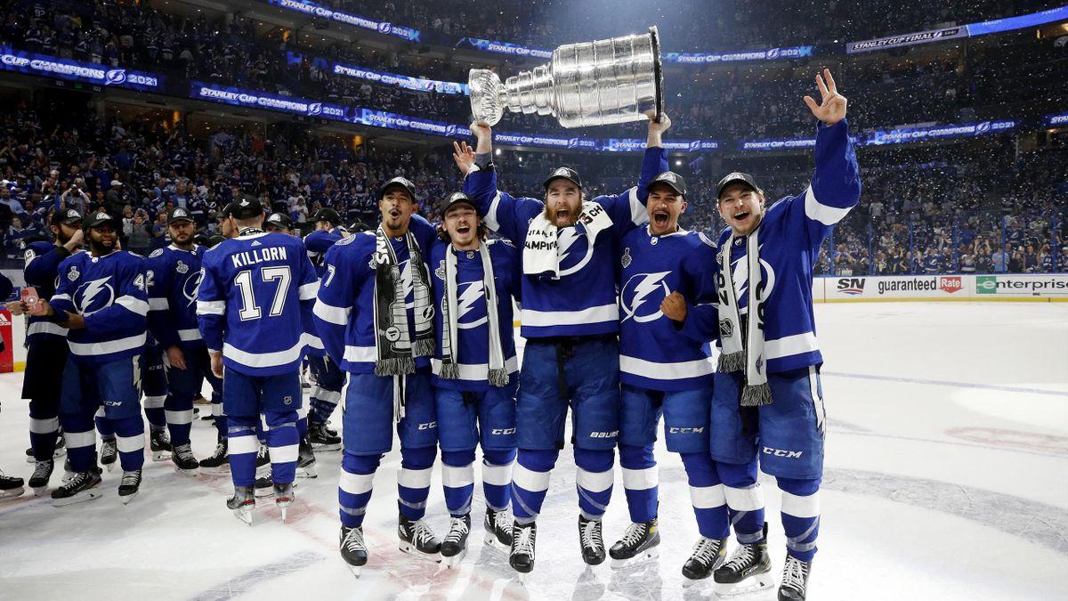 Tampa feiert nach dem Triumph