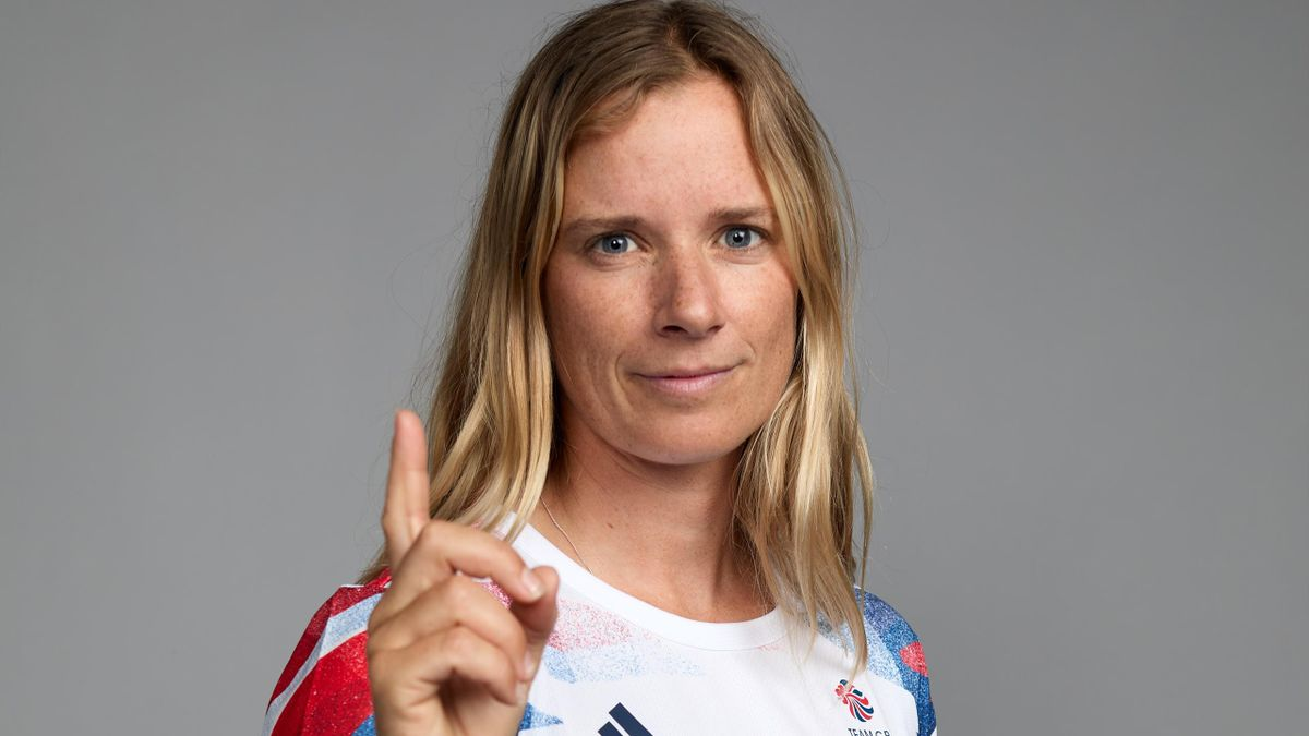 Hannah Mills is going for a second Olympic gold