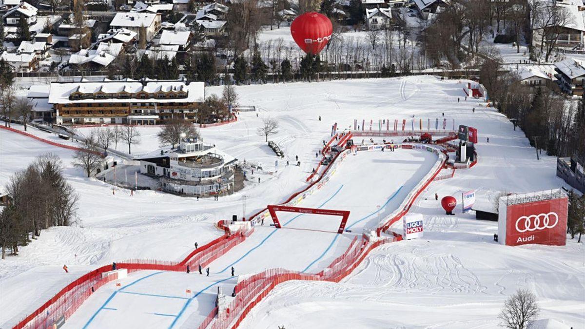 Die zweite Abfahrt in Kitzbühel wurde abgesagt