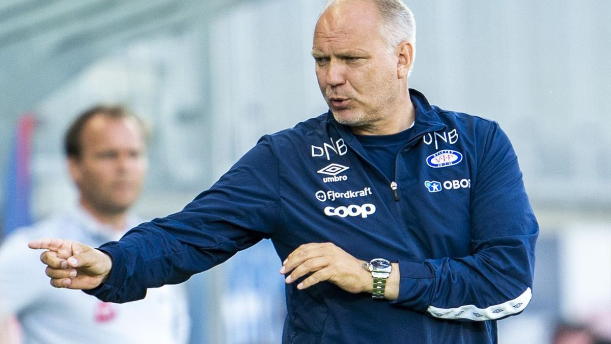 VIF-trener Dag-Eilev Fagermo.