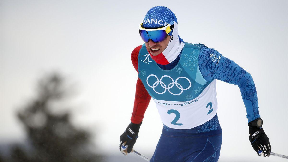 Maurice Manificat (France), lors des JO de Pyeongchang 2018