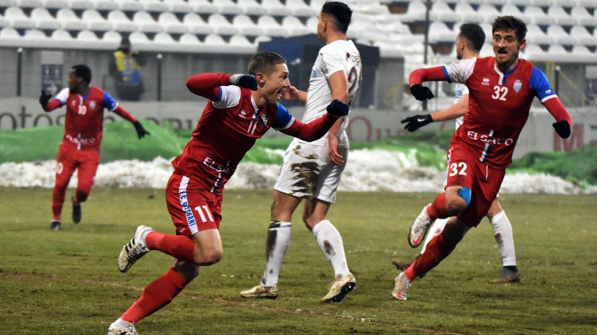 Mihai Roman a marcat golul victoriei în FC Botoșani-CFR Cluj, 2-1