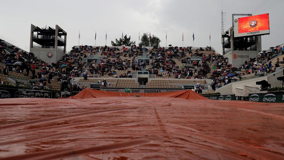 Roland Garros Rain