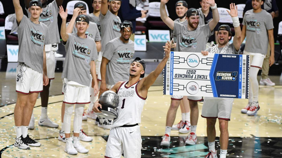 Gonzaga Bulldogs, NCAA 2020-21