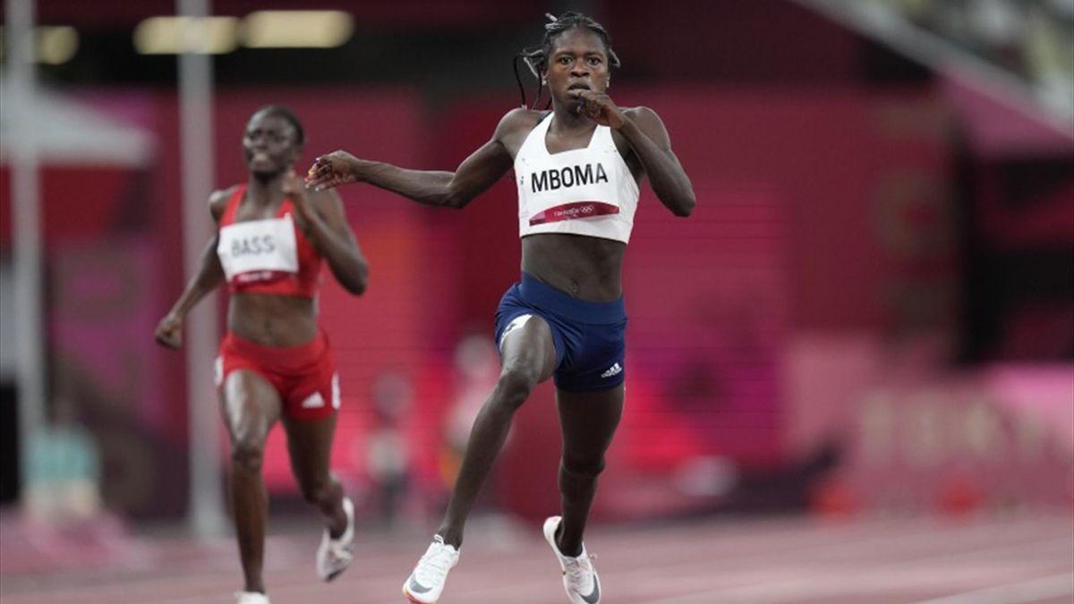 Christine Mboma, corredora namibia