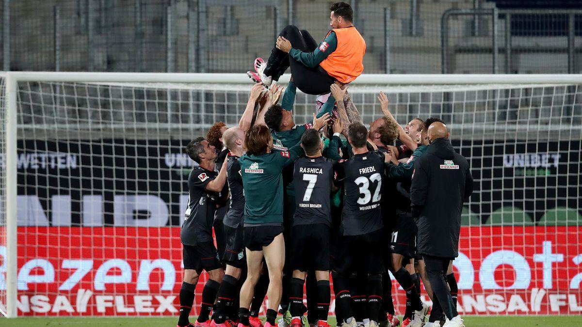 Werder Bremen a rămas în Bundesliga