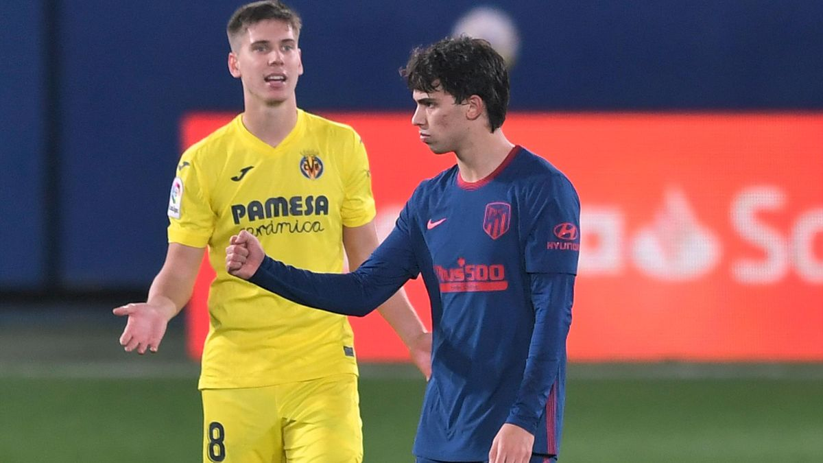 Juan Foyth (Villarreal) y João Félix (Atlético)
