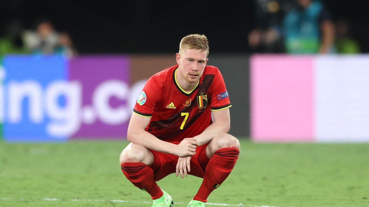 Kevin De Bruyne of Belgium, Euro 2020
