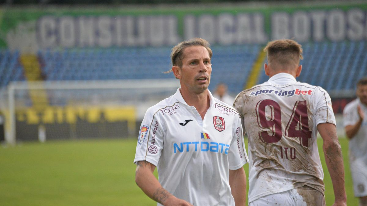 Liga 1 | Botoșani - CFR Cluj 0-2