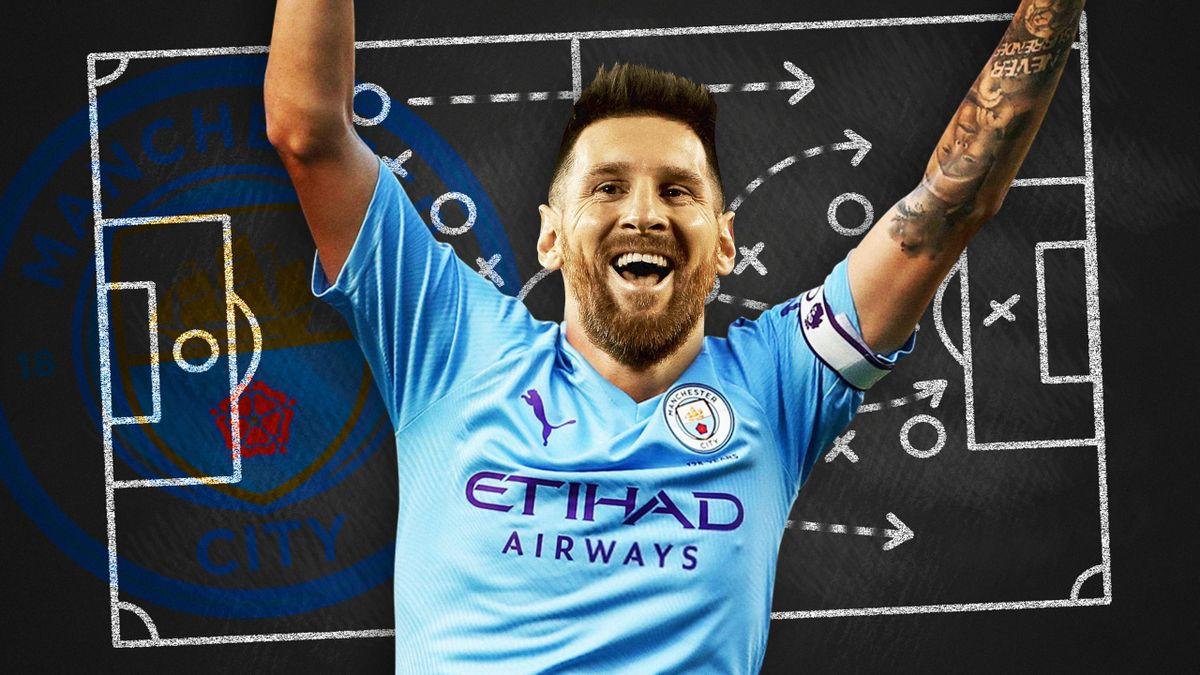 Fantasmes Tactiques - Lionel Messi à Manchester City