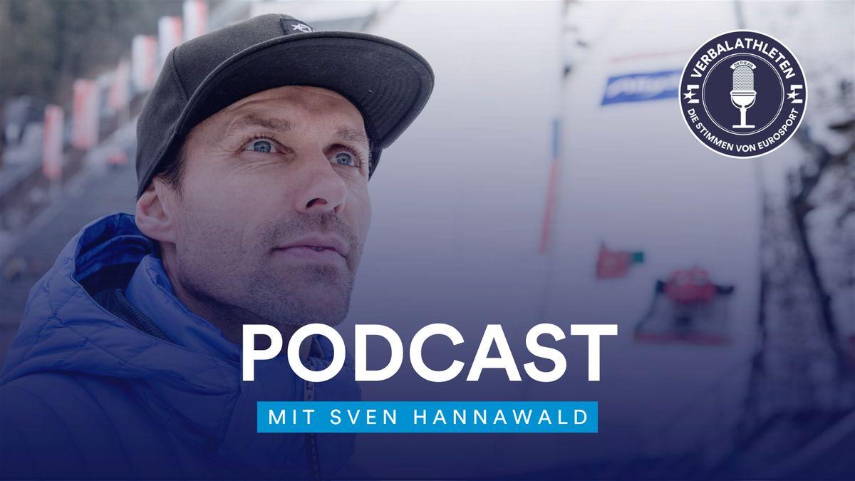 Sven Hannawald bei den Verbalathleten