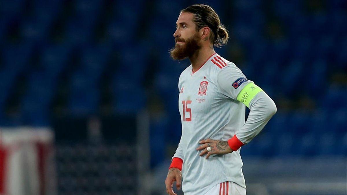 Sergio Ramos - Svizzera-Spagna - Nations League