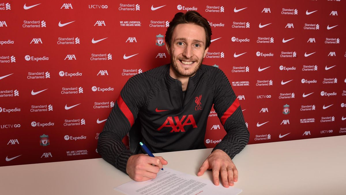Ben Davies new signing for Liverpool at Anfield