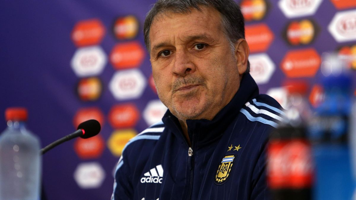 Tata Martino, seleccionador de Argentina