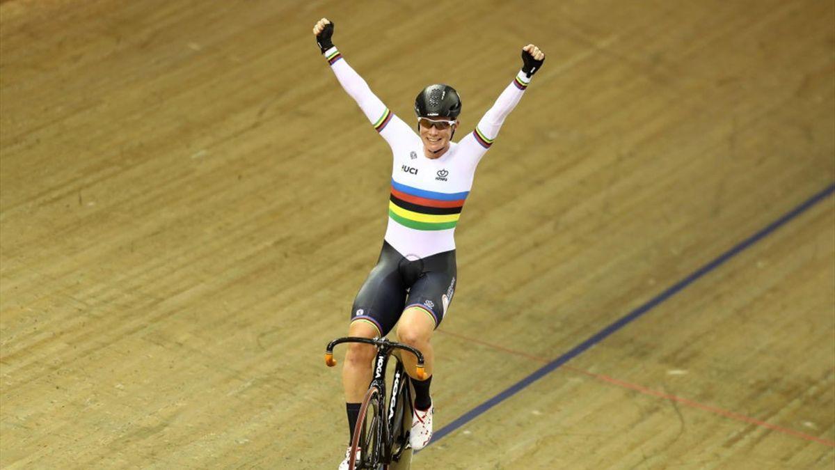 Kirsten Wild Wereldkampioen