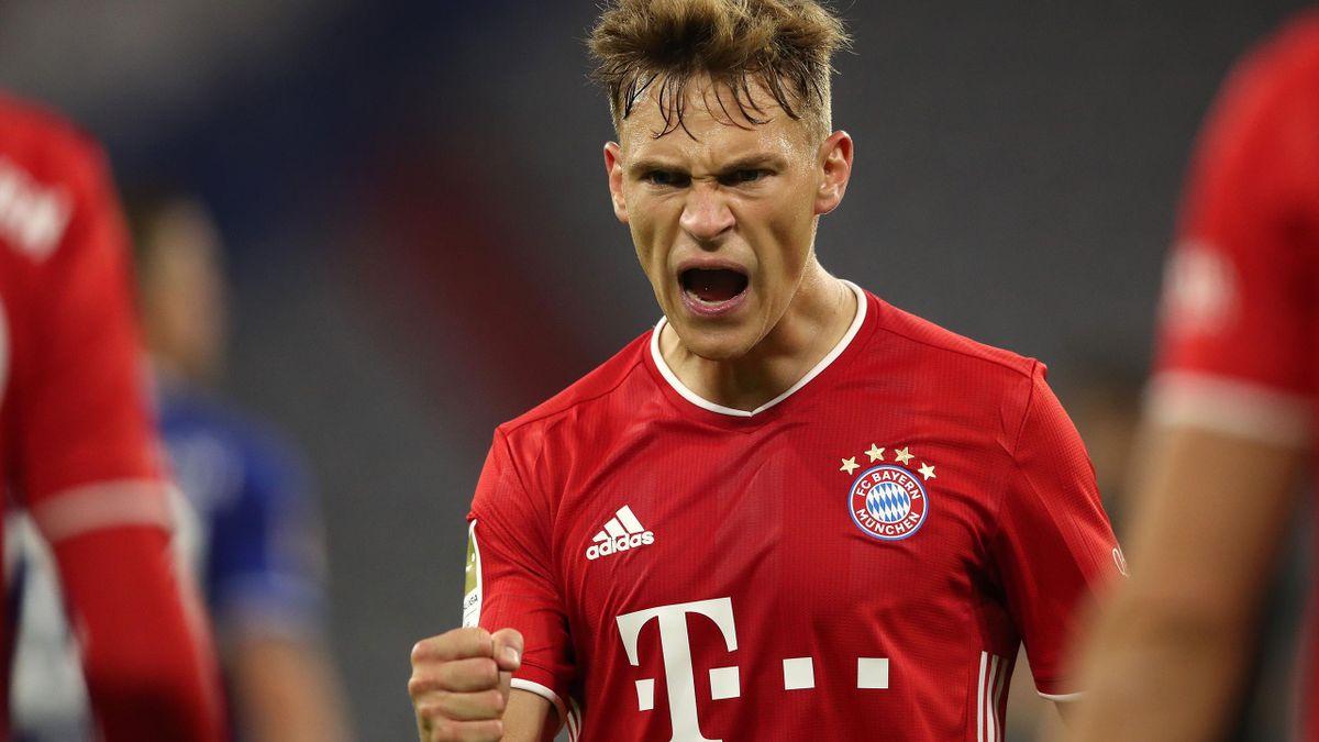 Der Boss auf dem Platz beim FC Bayern: Joshua Kimmich
