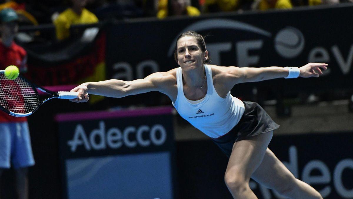 Andrea Petkovic im Fed-Cup-Einsatz
