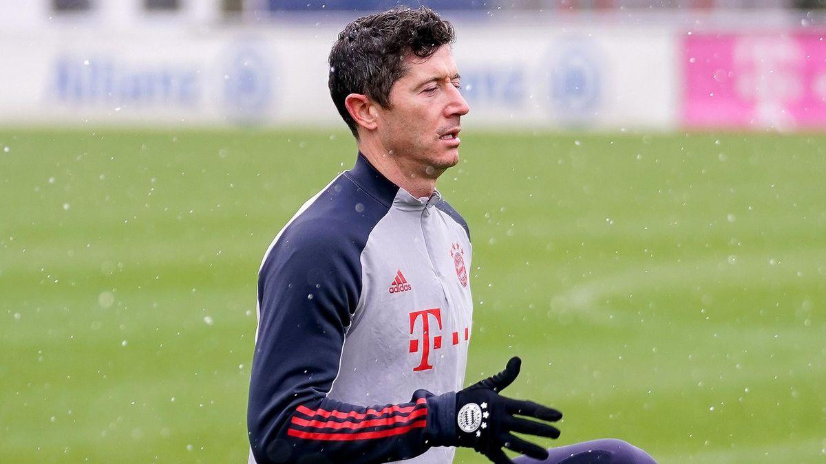 Robert Lewandowski ist zurück im Training des FC Bayern München