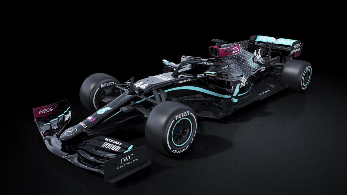 Mercedes' 2020 livery (Mercedes)