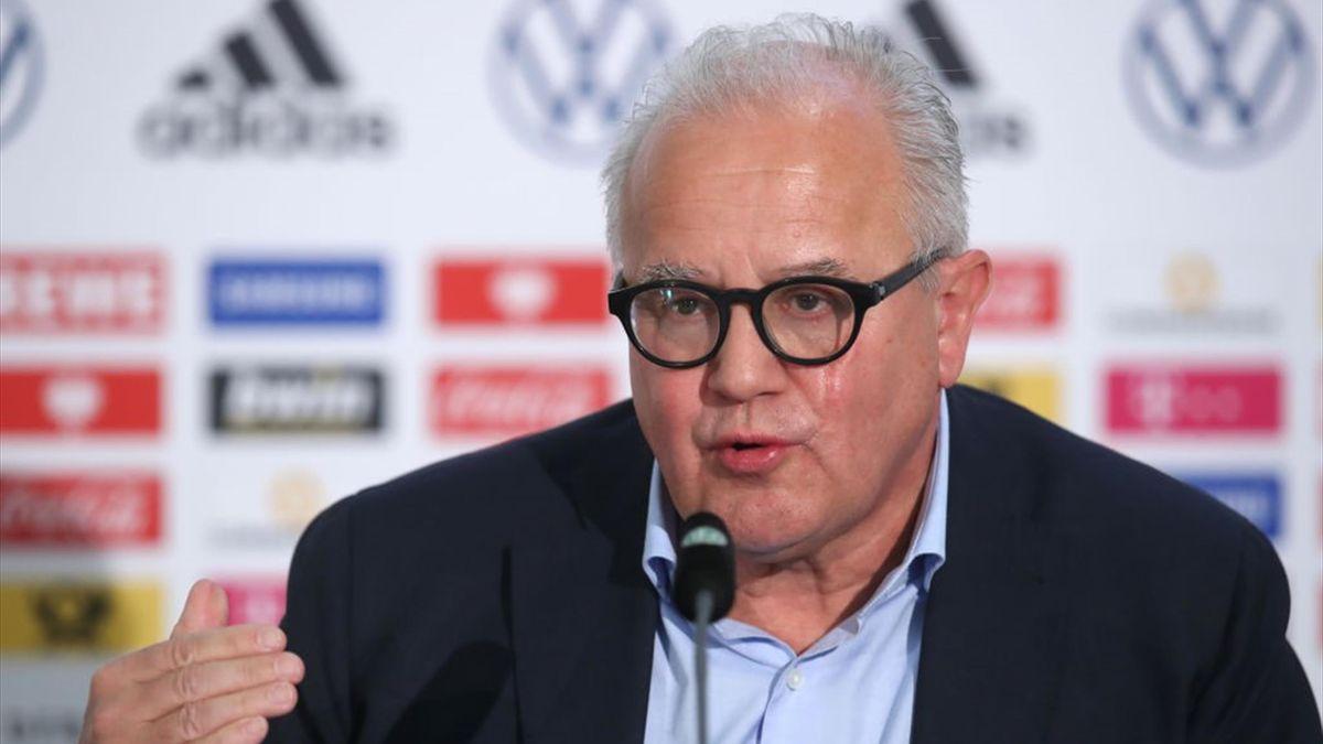 DFB-Präsident Fritz Keller muss sich vor dem Sportgericht verantworten