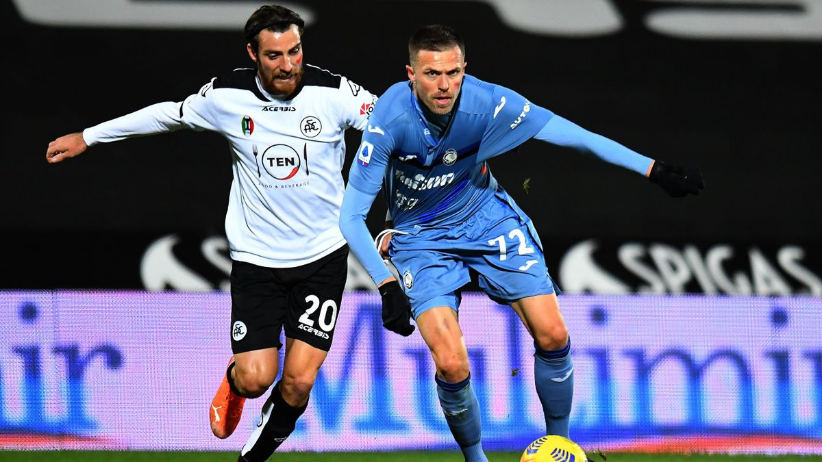 Josip Ilicic, Simone Bastoni, Spezia-Atalanta, Getty Images