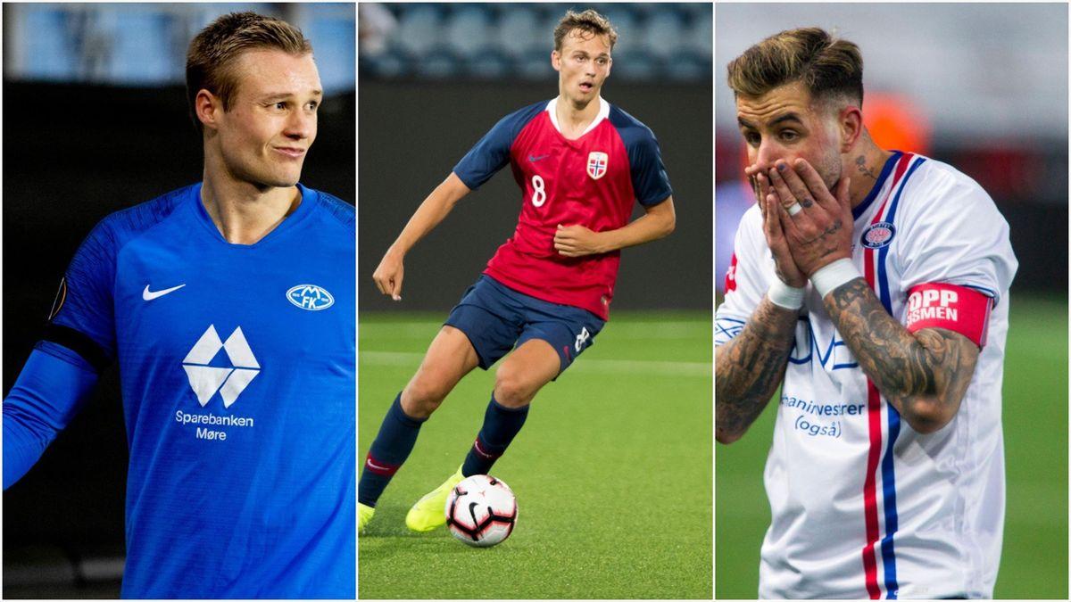 Stian Gregersen, Emil Bohinen og Aron Dønnum