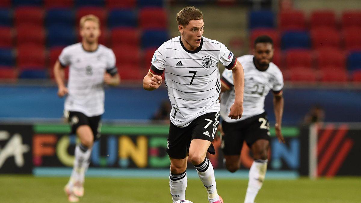 Florian Wirtz (Deutschland) bei der U21-EM