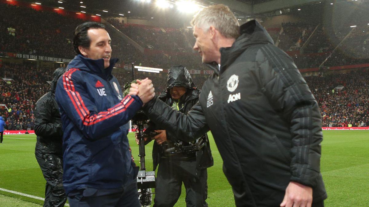 Unay Emery, Ole Gunnar Solskjaer, Manchester United – Arsenal