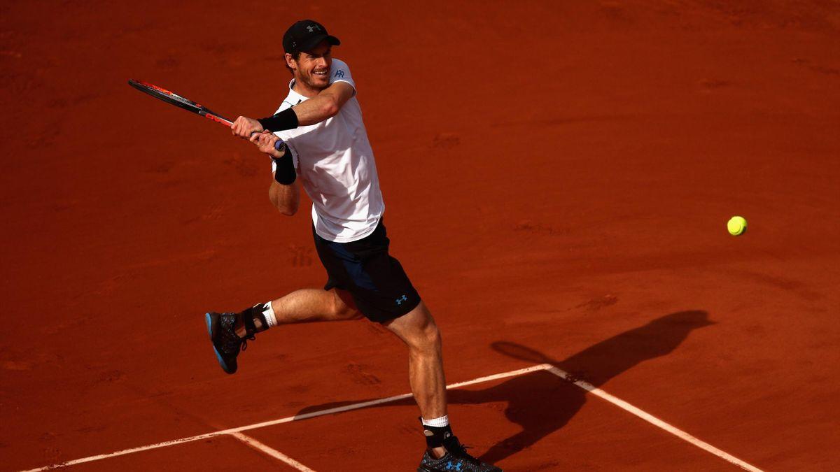 Andy Murray, Roland Garros 2017.