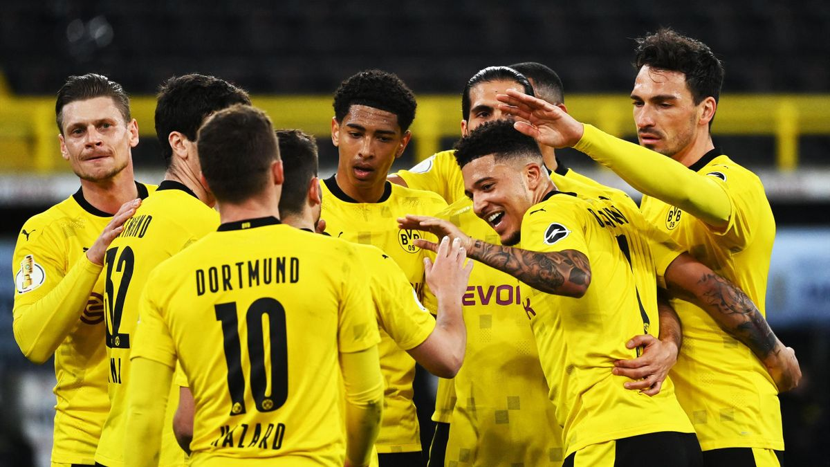 Jubel bei Borussia Dortmund