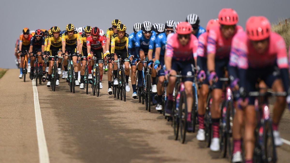 Das Peloton der Vuelta