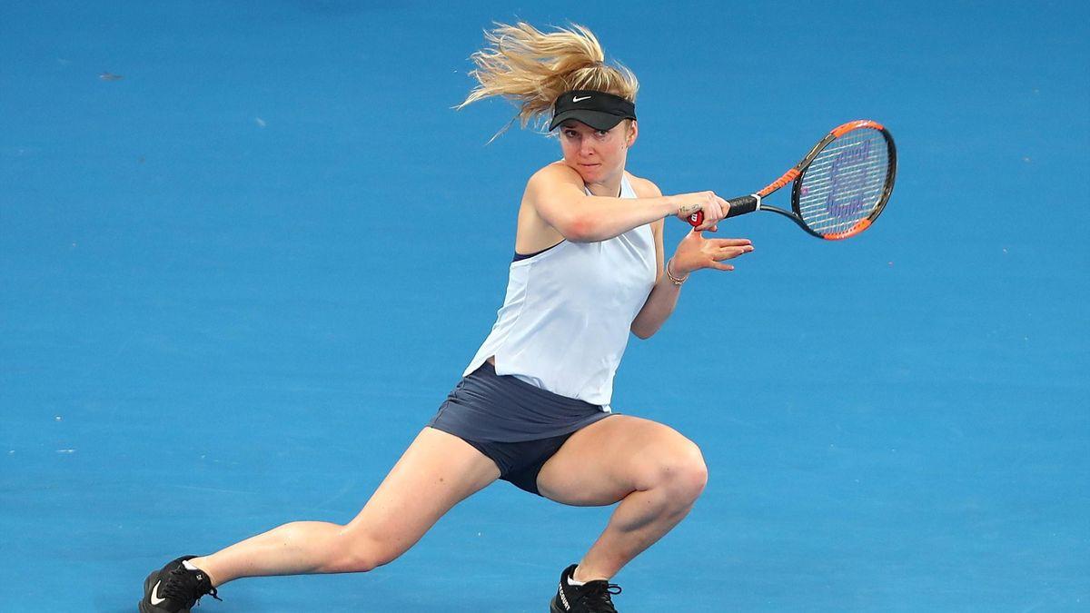 Elina Svitolina reaches the semi-finals in Brisbane