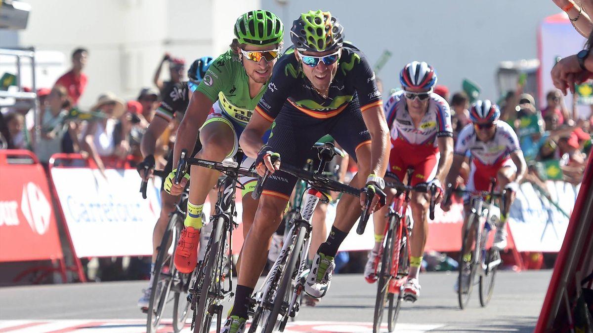 Alejandro Valverde gewann die vierte Etappe vor Peter Sagan