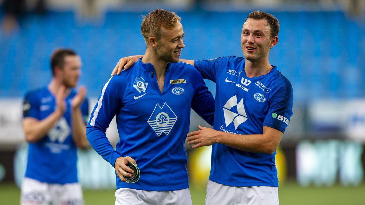 Moldes Martin Ellingsen og Fredrik Aursnes