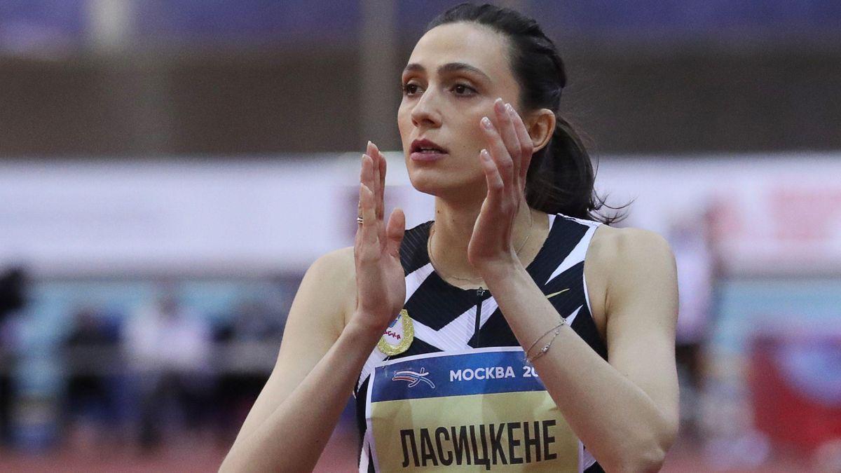Mariya Lasitskene (Russie)