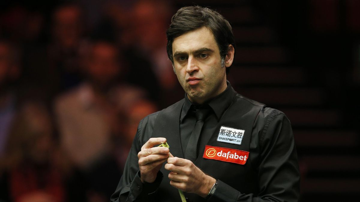 Ronnie O'Sullivan during the final