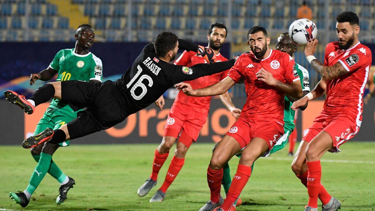 Tunesien - Senegal im Halbfinale des Afrika-Cup.