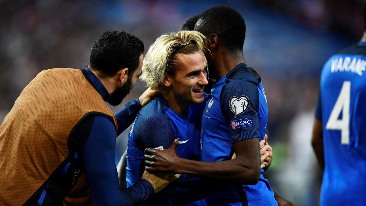 La France d'Antoine Griezmann qualifiée pour la Coupe du monde 2018