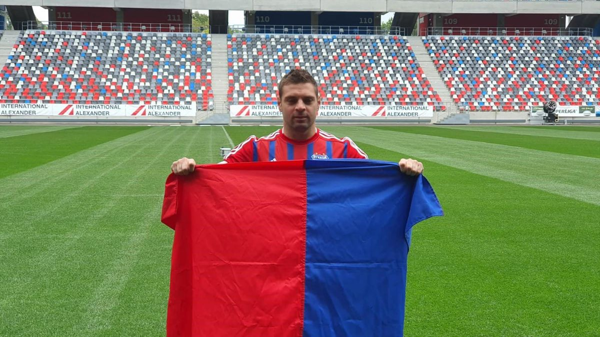 Adi Popa a fost prezentat oficial de CSA Steaua