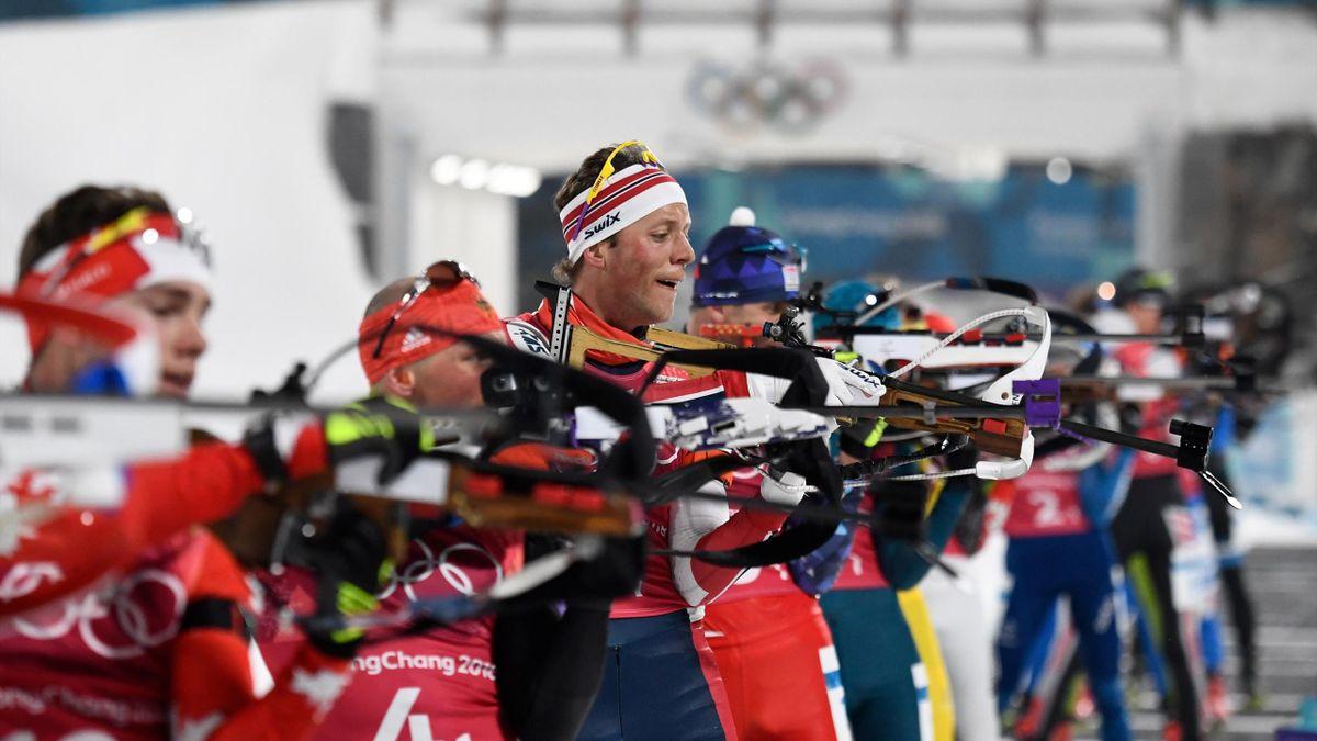 Pyeongchang 2018: Schießstand Biathlon